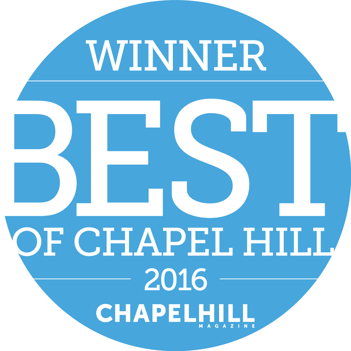 Best of Chapel Hill 2016