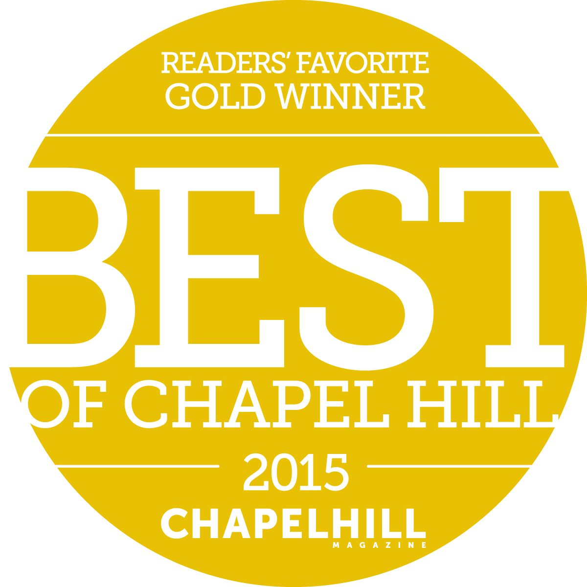 Best of Chapel Hill 2015