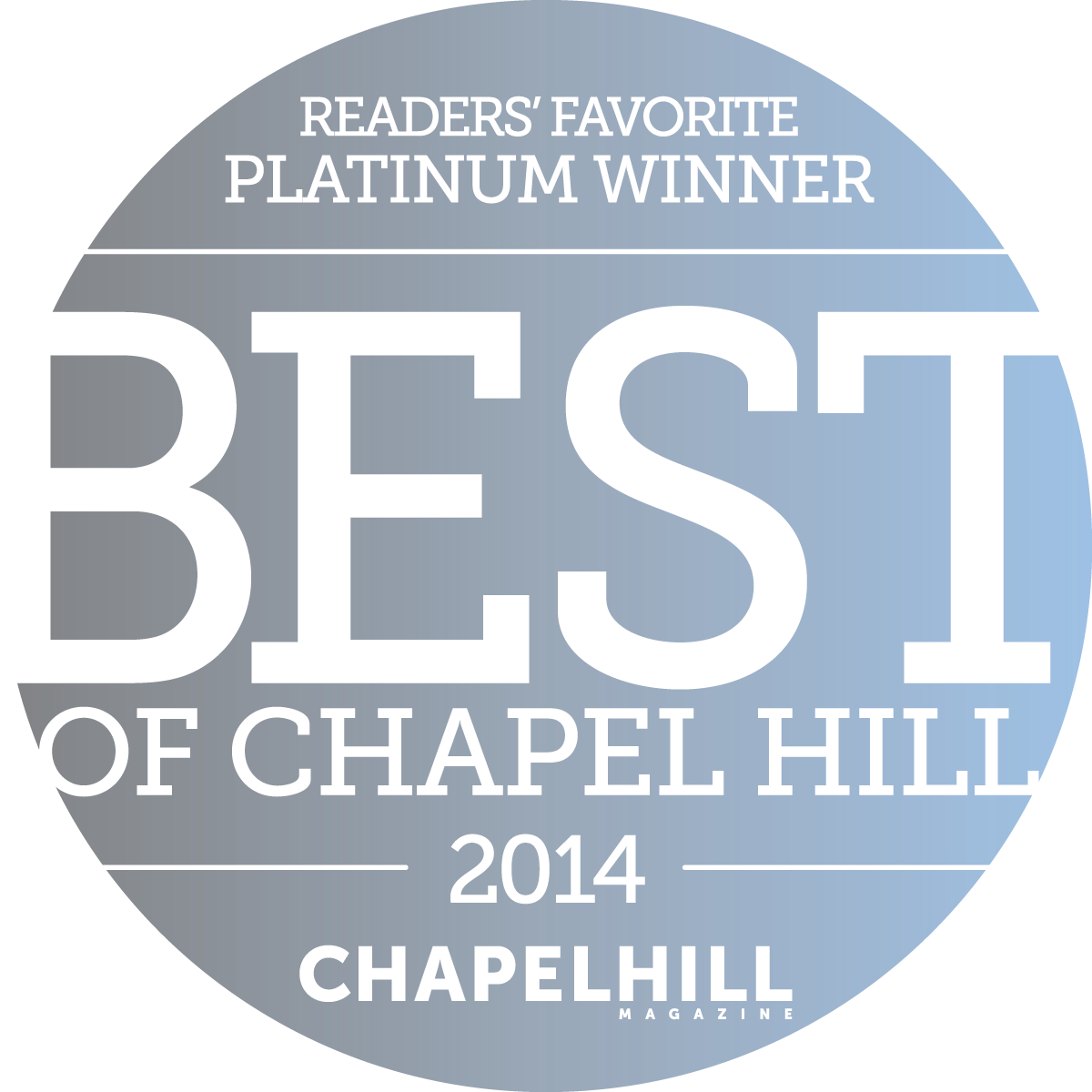 Best of Chapel Hill 2014
